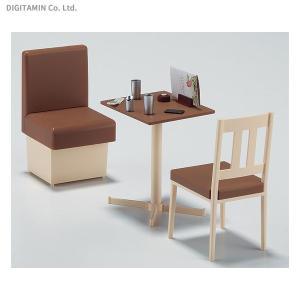 ハセガワ 1/12 ファミレスのテーブルと椅子 (1/12可動フィギュア用アクセサリー) プラモデル FA07(ZS49653) digitamin
