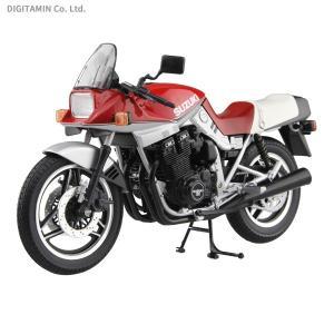 アオシマ 1/12 完成品バイク SUZUKI GSX1100S KATANA SE(赤/銀) 完成品 (ZS56489)