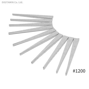 WAVE HT-635 ヤスリスティック HARD 4 先細型 #1200 (10枚入)(ZV54448)|digitamin