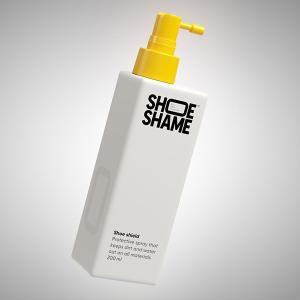 防水スプレー シューシェイム シューシールド シューケア用品 保護 撥水スプレー 200ml SHOE SHAME SHOE SHIELD|digstore