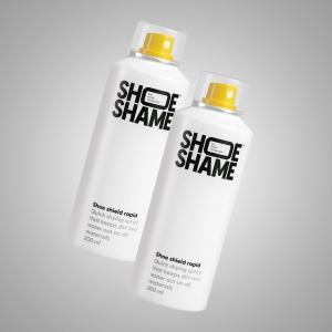 防水スプレー 靴 スニーカー シューシェイム シューシールド ラピッド 2本セット シューケア用品 保護スプレー 200ml SHOE SHAME Shoe shield rapid|digstore