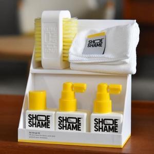 スニーカークリーナー シューシェイム オンザゴーキット オールインワンキット シューケア用品 靴用洗剤 靴 手入れ 送料無料 SHOE SHAME|digstore