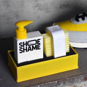 スニーカークリーナー シューシェイム ルーズ ザ ダート キット オールインワンキット シューケア用品 靴用洗剤 靴 手入れ|digstore