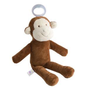 「ぬいぐるみ」と「おしゃぶり」が一体化したパシフレンズ 細身のボディと手足で、新生児でもつかみやすい...