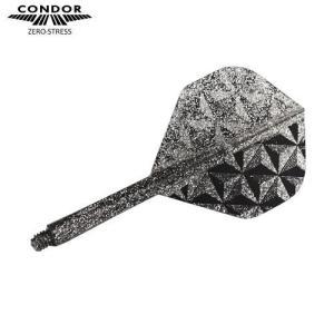 CONDOR フライト Pyramid スタンダードM スモークシルバー(ラメグリッター)