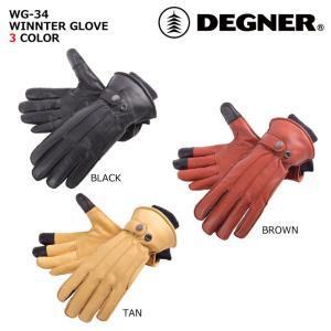 デグナー 【DEGNER】 ウィンターグローブ 【WG-34】|dimension-3