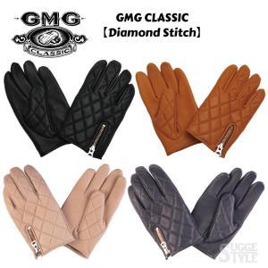 日本製 GMG CLASSIC Diamond Stitch ダイアモンドステッチ 鹿革 クラシックグローブ GGMC009〜GGMC016|dimension-3