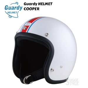 DIN MARKET Guardy HELMETSCOOPER ガーディーヘルメット クーパー ジェットヘルメット SG規格 HGD010 HGD011 HGD012|dimension-3