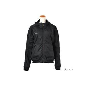 ROSSOのフード付きメッシュジャケット。  素材 表地:ポリエステルメッシュ 裏地:クールマックス...
