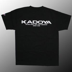 KADOYA (カドヤ) KADOYA LOGO T-SHIRT (KADOYAロゴT) (7831)|dimension-3