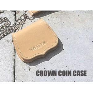 KADOYA (カドヤ) CROWN COIN CASE (クラウンコインケース) (8855)|dimension-3