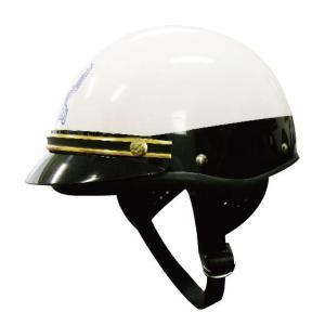 コミネ KOMINE FUJI300Aヘルメット USポリス ゴールドモール 装飾用バイザー付き 01-151、01-155GD dimension-3