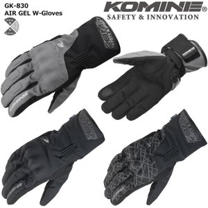 コミネ 【KOMINE】 GK-830 AIR GEL ウィンターグローブ 【06-830】|dimension-3
