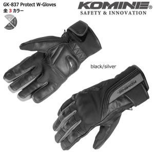 コミネ 【KOMINE】 GK-837 プロテクトウィンターグローブ 【06-837】|dimension-3