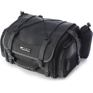 MOTOFIZZ 【モトフィズ】 ミニフィールドシートバッグ 【ブラック】 dimension-3