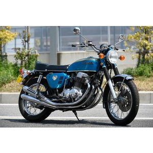 K0 無番4本出しマフラー CB750Four (MRS1756-M066)|dimension-3