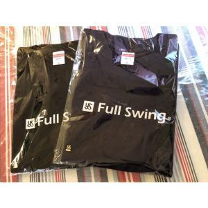 スワローズTシャツ(フルスイング)黒|dimple-iseki-tokyo