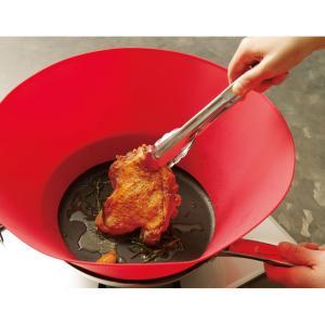 アメリカでヒット中!油はねを360度ブロックする全く新しい調理アイテム全米で大ヒットしているのも、大...