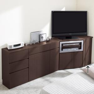 ダイニングテーブルから見やすいハイタイプテレビシリーズ  左右兼用オプションパネル 710827