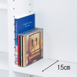光沢仕様 引き戸壁面収納本棚 幅90奥行21高さ180cm 712010|dinos|04