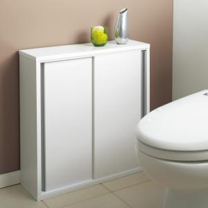 トイレ収納庫 引き戸タイプ 幅60cm・4段 705517
