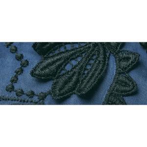 3Dパネルレース ボリューム袖 ブラウス 126302 dinos 03