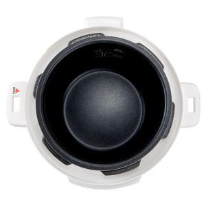 コンパクト電気圧力鍋 ガラスふたセット 2.5L STL-EC30 AR1512|dinos|06
