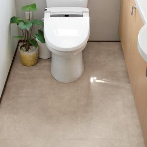 床リフォームシート お得なトイレ&洗面所 タイル調トイレ用+タイル調洗面所用 724720