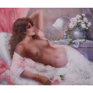 絵画・模写油絵 モネ 日傘をさす女 6号風景画|dipint
