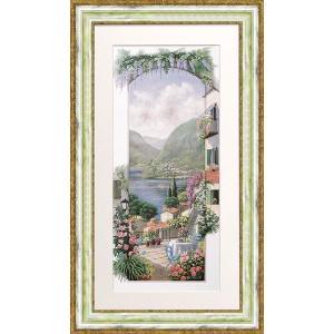 絵画 複製画 風景 ピーターモッツ 「バルドリーノ」 玄関 インテリア dipint