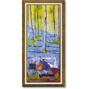 おしゃれなアート インテリア絵画 サムトフト 「スプリング」 リビング 贈り物 dipint