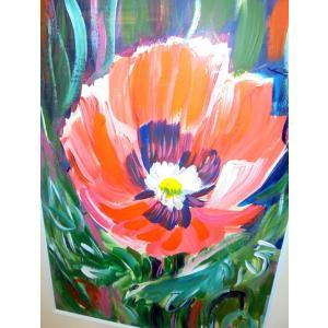 花の絵画 インテリア アクリル画 ナタリー(ウクライナ) 「花」 リビング 玄関 贈り物|dipint|02