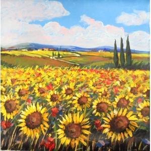 (定価250,000円) 風景油絵 絵画 カンザネッラ 作 「イタリア風景・ベネチアの運河」インテリア|dipint
