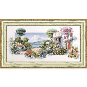 絵画 複製画 風景 ピーターモッツ 「ラーゴ ディ マッジョーレ2」 玄関 インテリア|dipint