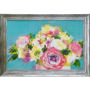 花のインテリア 立体複製画 「ファースト ブルーム」 モダン絵画 結婚祝い dipint
