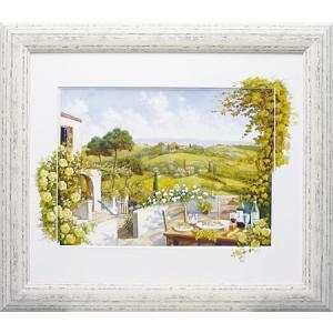 絵画 複製画 風景 ピーターモッツ 「トスカーナ」 玄関 インテリア 結婚祝い dipint