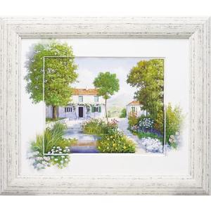 絵画 複製画 風景 ピーターモッツ 「ラブリーデイ」 玄関 インテリア 結婚祝い dipint