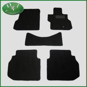日産 フーガ Y50 PY50 フロアマット カーマット 織柄黒 社外新品|diplanning