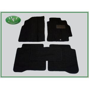 日産 プリメーラワゴン セダン QP12 RP12 フロアマット 織柄黒|diplanning
