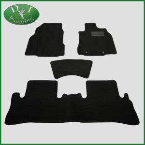 日産 キューブ Z12 NZ12 フロアマット カーマット 織柄黒 社外新品 diplanning