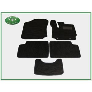トヨタ パッソ QNC10 ダイハツ ブーン 300系 フロアマット カーマット 織柄黒 社外新品|diplanning