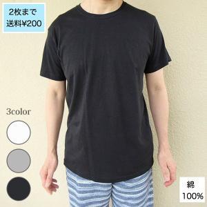 メンズ 半袖 Tシャツ 綿100% 天竺 丸首|direct-factory