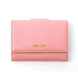 9eaaae5273e8 ... プラダ財布 さいふ PRADA サフィアノ レザー 二つ折り財布 SAFFIANO METAL(型押し牛革)
