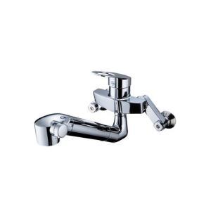 TKGG37E TOTO キッチン用水栓 GGシリーズ 壁付シングル13(シャワ・整流・浄水器付)|direct-store