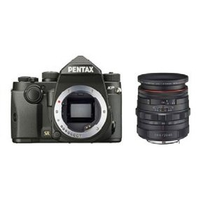 PENTAX KP ボディ [ブラック] + HD DA 20-40mmF2.8-4ED Limited DC WR [ブラック] 【セット】|directhands
