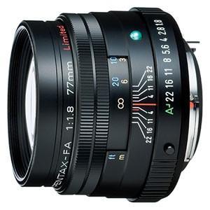 PENTAX ペンタックス FA77mmF1.8 Limited (ブラック)|directhands