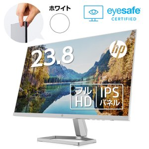 【IPS】HP M24fw (型番:2E2Y5AA-AAAA)(1920x1080 約1677万色) 液晶ディスプレイ 23.8インチワイド 省スペース フルHD モニター 新品 AMD FreeSync HDMI|HP Directplus
