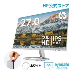【IPS】HP M27fw (型番:2H1B1AA-AAAA)(1920x1080 約1677万色) 液晶ディスプレイ 27.0インチワイド 省スペース フルHD モニター 新品 AMD FreeSync HDMI|HP Directplus