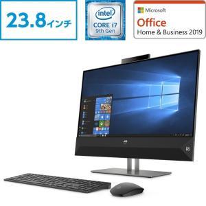 Core i7 8GBメモリ 256GB SSD+2TB HDD 23.8型 HP Pavilion...
