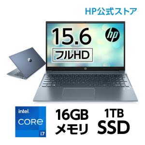HP Pavilion 15(型番:2D6N0PA-AAFG) Core i7 16GBメモリ 1T...